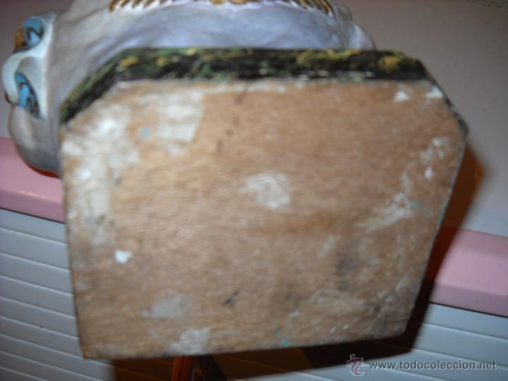 Antigüedades: Muy antiguo mortero/almirez de Teruel de tres asas - Foto 2 - 47047592