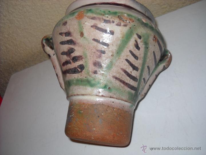Antigüedades: Muy antiguo mortero/almirez de Teruel de tres asas - Foto 6 - 47047592