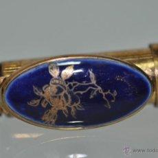 Antigüedades: PATRY´S PARIS FRANCE PINTALABIOS CON PORCELANA ESMALTADA LIMOGES . Lote 47051556