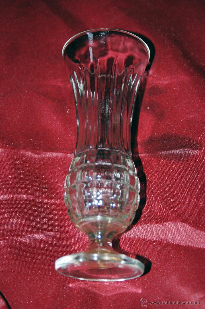 Antigüedades: Preciosa copa alta de cristal italiano antigua - Foto 3 - 47052958
