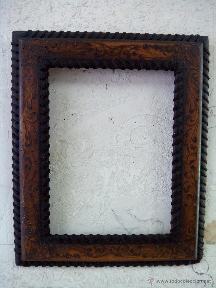 MARCO ANTIGUO (Antigüedades - Hogar y Decoración - Marcos Antiguos)
