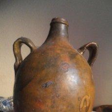 Antigüedades: CANTARO PARA AGUARDIENTE ALFATERIA POPULAR DE PRIEGO ( CUENCA ) S.XIX. Lote 47072110