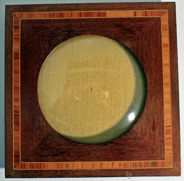marco de madera y marquetería ( cristal curvado - Comprar Marcos ...