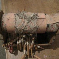 Antigüedades: COJIN ENCAJE DE BOLILLOS. Lote 47081974