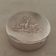 Antigüedades: ANTIGUA CAJA EN PLATA DE 925 CON MARCAS. Lote 47084350