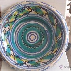 Antigüedades: ANTIGUO LEBRILLO DE TRIANA , PINTADO A MANO. Lote 47096091