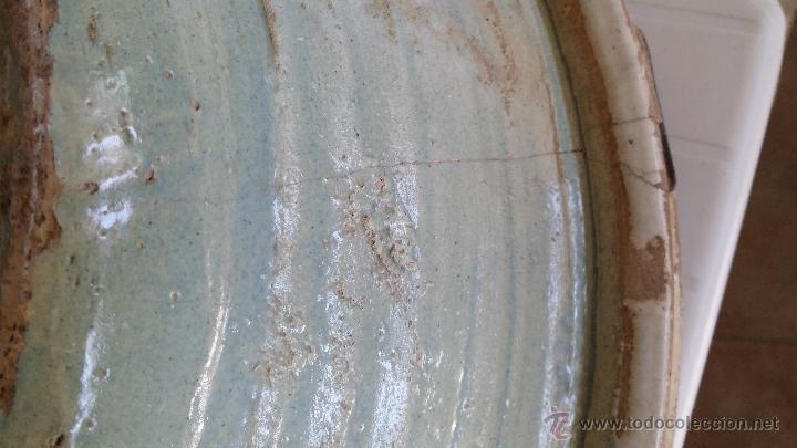 Antigüedades: antiguo lebrillo de triana , pintado a mano - Foto 4 - 47096091