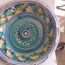 Antigüedades: ANTIGUO LEBRILLO DE TRIANA , PINTADO A MANO. Lote 47096141