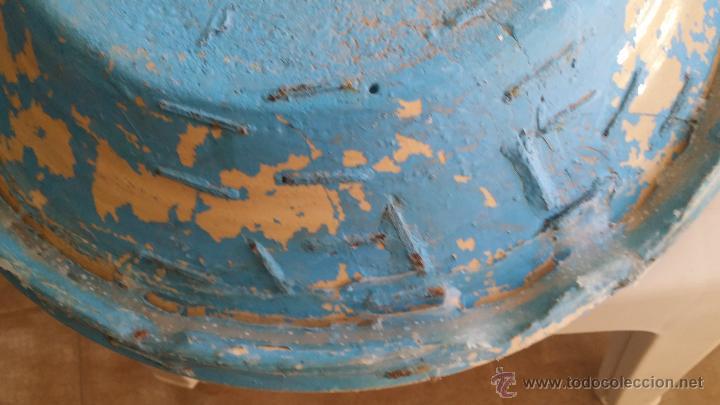 Antigüedades: antiguo lebrillo de triana , pintado a mano - Foto 6 - 47096196