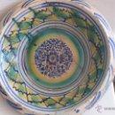Antigüedades: ANTIGUO LEBRILLO DE TRIANA , PINTADO A MANO. Lote 47096423