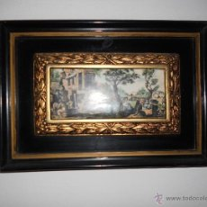 Antigüedades: BONITOS LOTE DE CUADROS DE PORCELANA. Lote 47108713