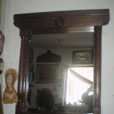 Antigüedades: MARCO CON LUNA REHECHO ESTILO NEOCLASICO. Lote 47109370
