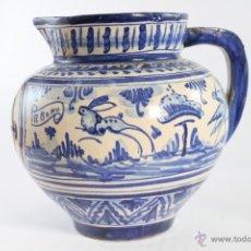 Fantástica jarra talavera siglo XIX