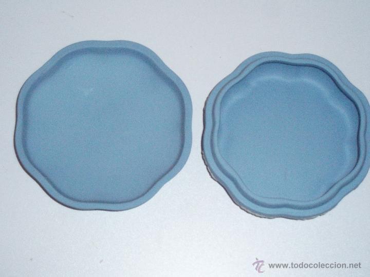 Antigüedades: caja de porcelana Wedgwood Jasper Ware - Foto 2 - 47113231
