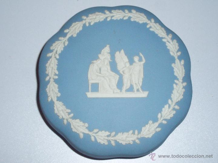 Antigüedades: caja de porcelana Wedgwood Jasper Ware - Foto 4 - 47113231