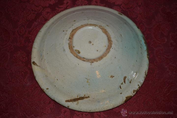 Antigüedades: PRECIOSO CUENCO DE CONVENTO EN CERAMICA DE TRIANA,(SEVILLA),S. XVIII - Foto 8 - 47115433