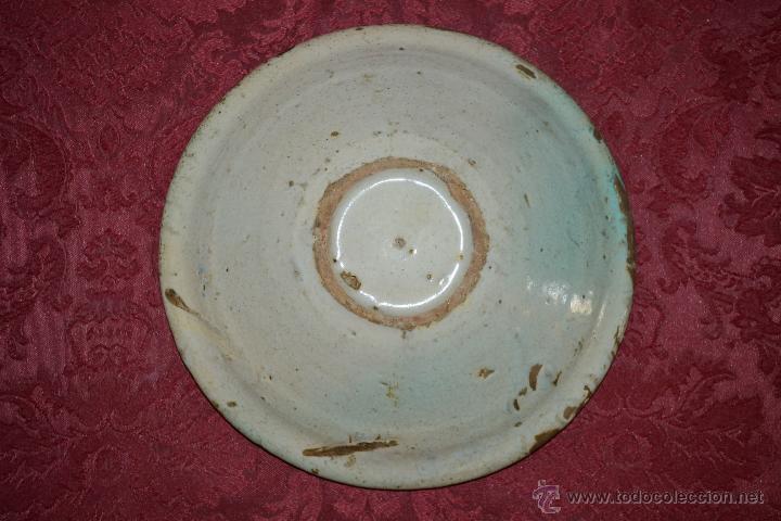 Antigüedades: PRECIOSO CUENCO DE CONVENTO EN CERAMICA DE TRIANA,(SEVILLA),S. XVIII - Foto 9 - 47115433