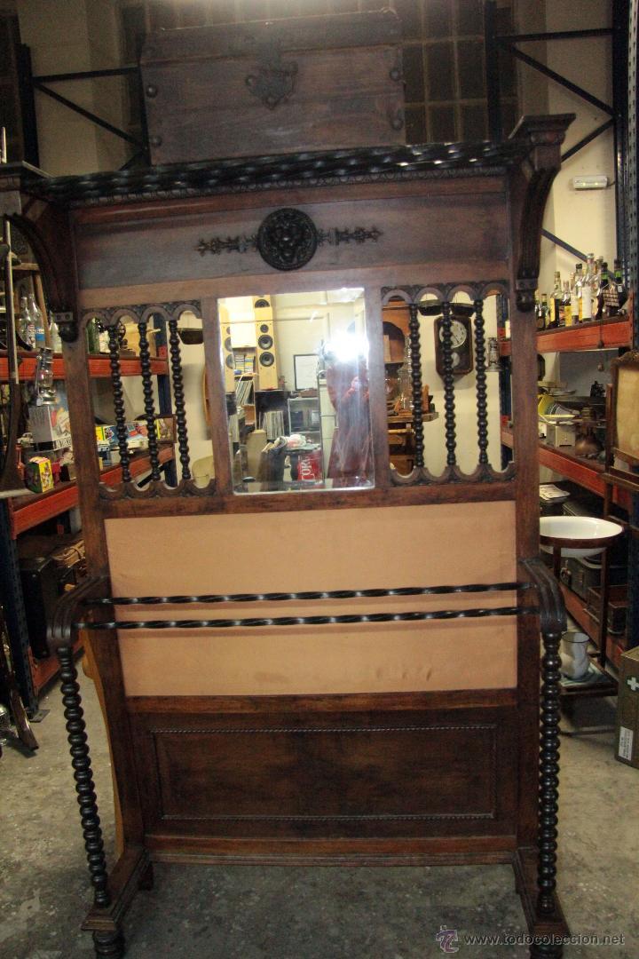 ANTIGUO RECIBIDOR, FINALES DE S.XIX, ESTILO RENACENTISTA, (Antigüedades - Muebles Antiguos - Auxiliares Antiguos)