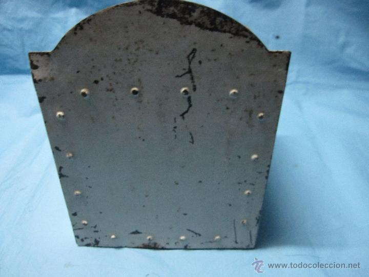 Antigüedades: ANTIGUA HUCHA DE IGLESIA PORTUGUESA ESMOLA PARA O CULTO DAS ALMAS LIMOSNERO ANTIGUO ETNOGRAFICA - Foto 5 - 47123453
