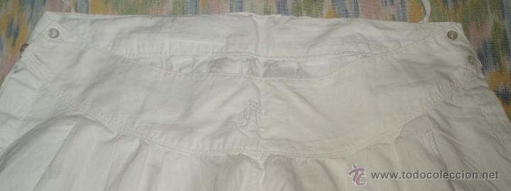 Antigüedades: enaguas o pololos para traje regional de algodon - Foto 2 - 47132945