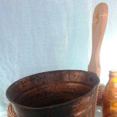 Antigüedades: CAZO DE COBRE PARA SACAR AGUA.. Lote 47139868