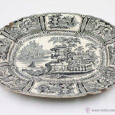 Antigüedades: FUENTE DE SARGADELOS DE CERÁMICA TAMAÑO 37X31 CM. VER FOTOS ANEXAS. Lote 47145170