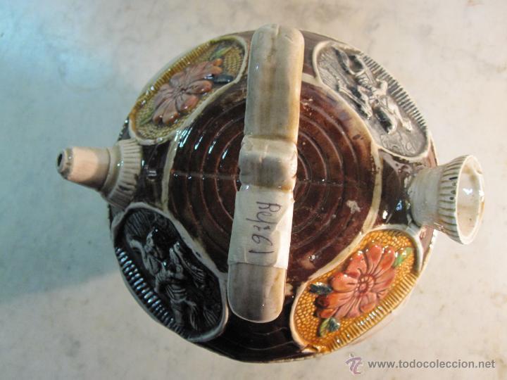 Antigüedades: VIEJO BOTIJO DE MANUFACTURA LEVANTINA AÑOS 20 - Foto 2 - 47145174