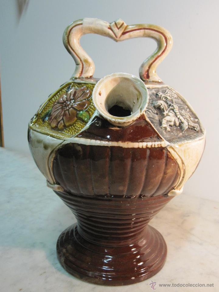 Antigüedades: VIEJO BOTIJO DE MANUFACTURA LEVANTINA AÑOS 20 - Foto 3 - 47145174
