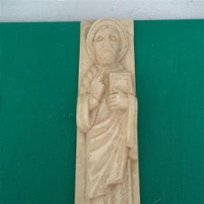 Antigüedades: FIGURA RELIGIOSA DE RESINA. Lote 47147954