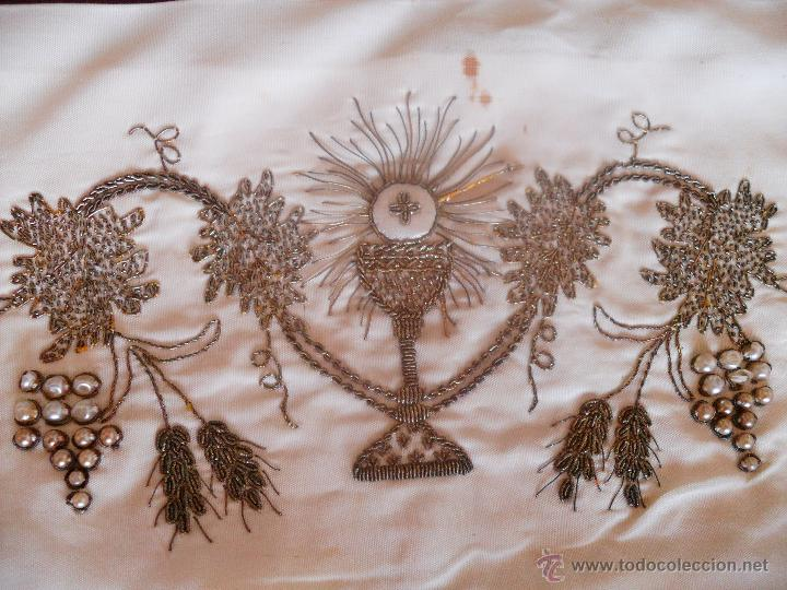FAJIN BORDADO (Antigüedades - Religiosas - Ornamentos Antiguos)