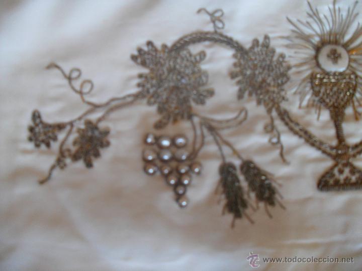 Antigüedades: FAJIN BORDADO - Foto 4 - 47149729