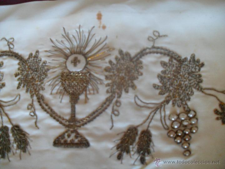 Antigüedades: FAJIN BORDADO - Foto 7 - 47149729