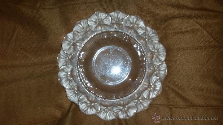 PRECIOSO PLATO FIRMADO LALIQUE (Antigüedades - Cristal y Vidrio - Lalique )