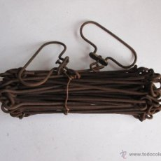 Antigüedades: AGRIMENSOR / DECAMETRO DE 10 METROS. Lote 47165122