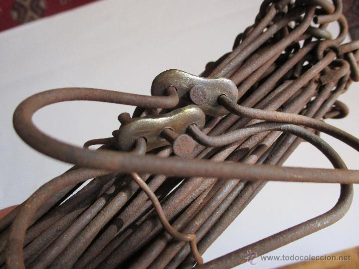 Antigüedades: agrimensor / decametro de 10 metros - Foto 2 - 47165122