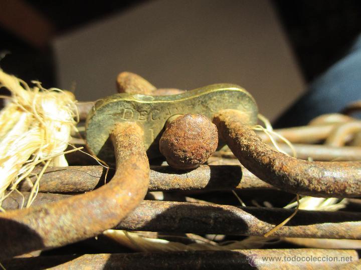 Antigüedades: AGRIMENSOR O CADENA DE GUNTER / 10 METROS - Foto 2 - 47165371