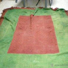 Antigüedades: ANTIGUA COLCHA DE LANA. Lote 47178370