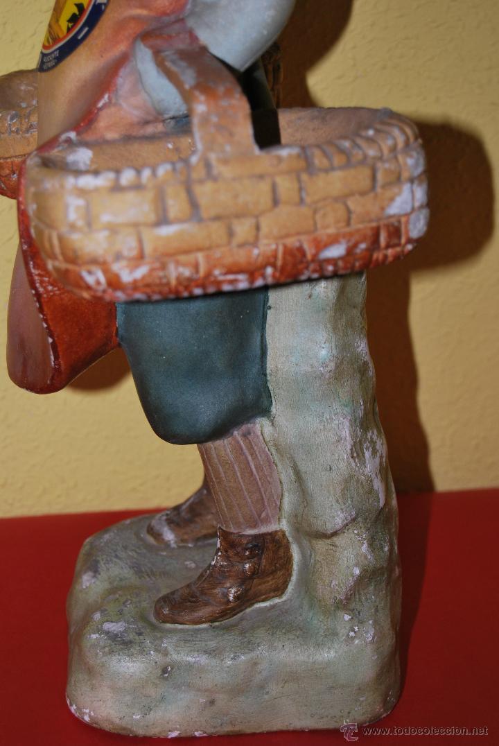 Antigüedades: ANTIGUO EXPOSITOR DE YESO - NARANJAS - ORTOLÁ - PEGO ALICANTE - FIGURA DE ESCAYOLA - NIÑO CON CESTOS - Foto 18 - 47187744