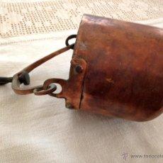Antigüedades: CUBO DE COBRE ORIGINAL Y ANTIGUO. Lote 47189623