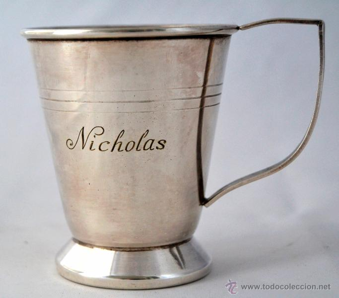 PRECIOSA JARRITA * JARRA NICHOLAS * MADE IN ENGLAND * NICOLAS (Antigüedades - Plateria - Varios)