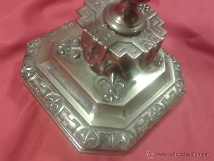 Antigüedades: Candelabro de bronce Siglo XIX - Foto 6 - 47193502