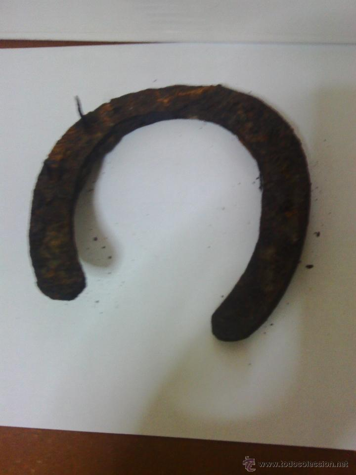 Antigüedades: antigua herradura - Foto 2 - 47205704