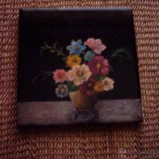 Antiguo azulejo baldosa cer mica de onda comprar azulejos antiguos en todocoleccion - Azulejos onda castellon ...
