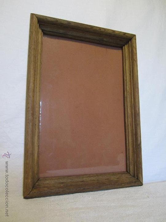 antiguo marco de madera de roble - Comprar Marcos Antiguos de ...
