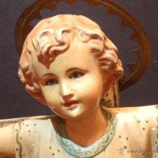 Antigüedades: NIÑO JESUS DE OLOT. Lote 47269487