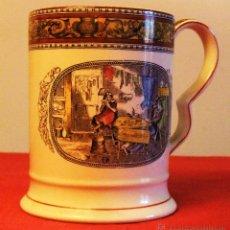 Antigüedades: JARRA DE CERVEZA DE PORCELANA ADAMS REAL ENGLISH IRONSTONE . Lote 47288048