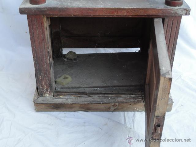 Antigüedades: BONITA MESITA AUXILIAR DE MADERA. - Foto 8 - 47288412