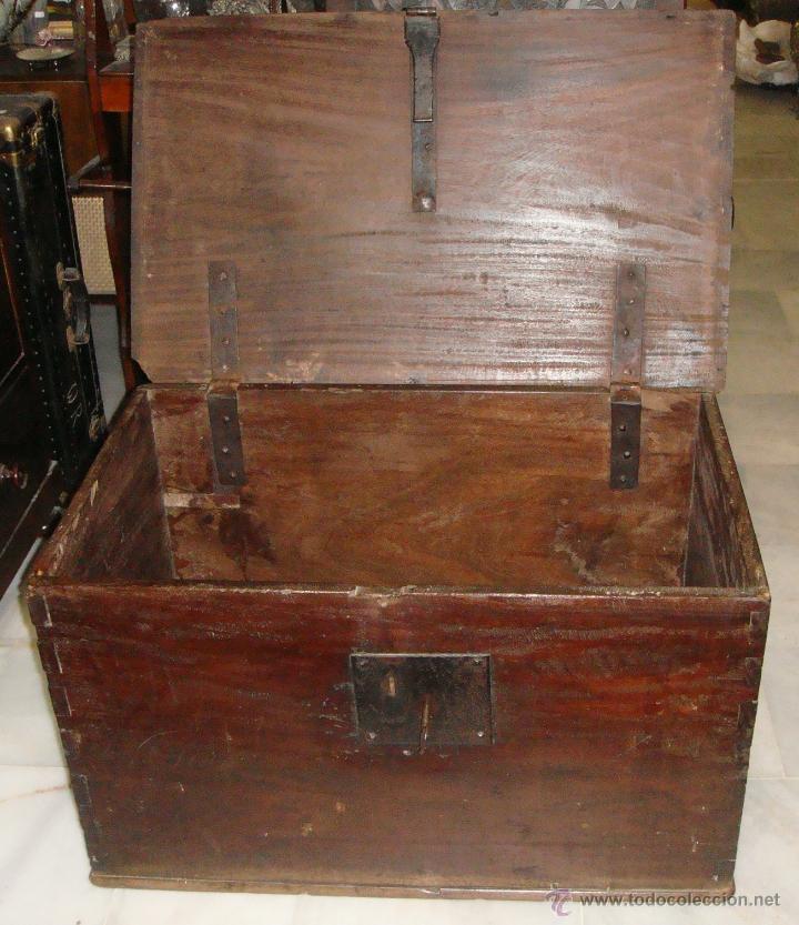 Antigüedades: Antiguo Arcón del S. XVIII. Cedro. Muy puro, sin restaurar y en muy buen estado. - Foto 4 - 47291358