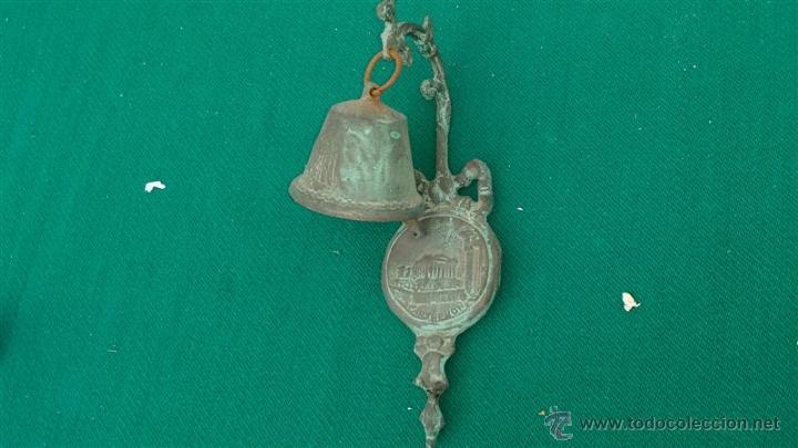 Antigüedades: campana dce bronce - Foto 3 - 47305942