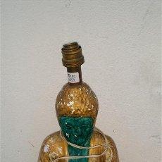 Antigüedades: LAMPARA FIGURA DE BUDA. Lote 47326591